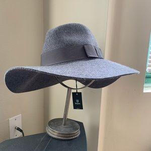 Brixton Grey Felt Hat